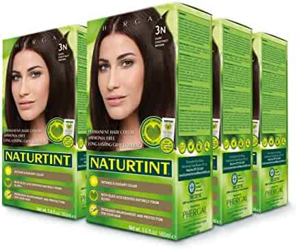 Naturtint Permanent Hair Color, 3N Dark Chestnut Brown, 5.6 Fluid Ounce (Pack Of 6)