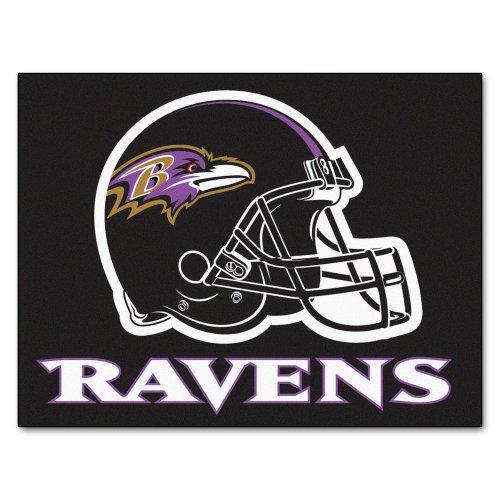 FANMATS NFL Baltimore Ravens Nylon Face All-Star ()