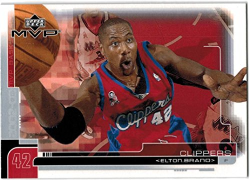 2002-03 Upper Deck MVP Basketball Los Angeles Clippers Team Set with Lamar Odom & Elton Brand - 8 Cards (Upper Basketball 03 Deck)