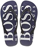 Hugo Boss Mens Wave_Thng_digital Flip Flops in Navy