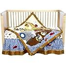 Lambs & Ivy S.S. Noah 5 Piece Bedding Set