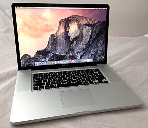 Apple MacBook Pro 17.0-Inch Laptop 2.66GHz / 8GB DDR3 Memory / 1000GB SSHD (Solid State Hybrid) Drive / OS X 10.10 Yosemite / High-Resolution Display / DVD Burner
