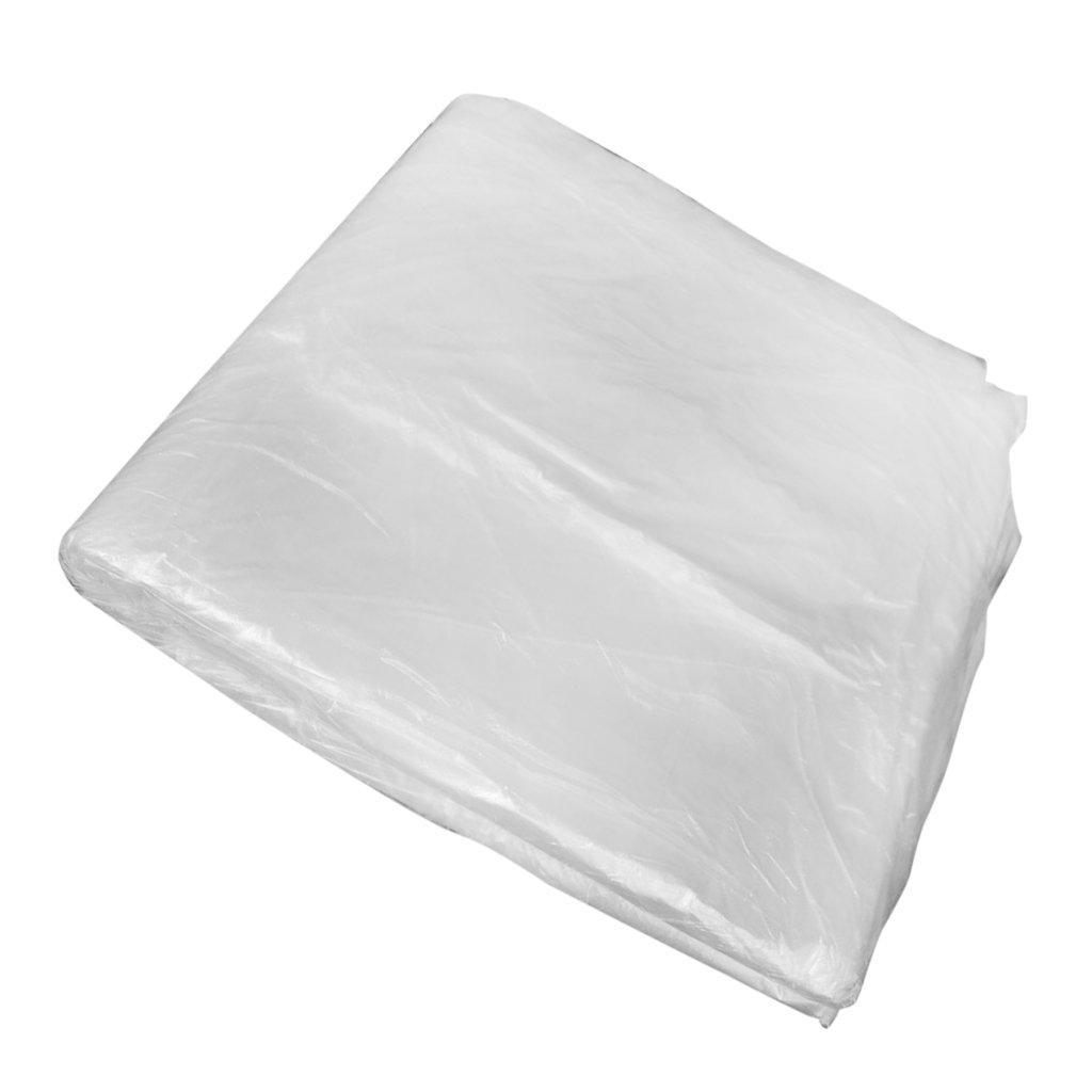 gazechimp 100 Pezzi di Coprisedili in Plastica Monouso Antipolvere Elevata Resistenza Durezza