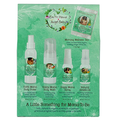 Earth Mama A Little Something For Mama-To-Be Organic Pregnancy Gift Set, 5 Piece by Earth Mama (Image #2)