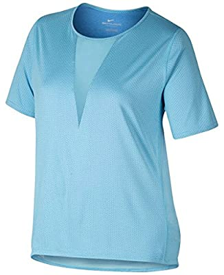 NIKE Women's Plus Size Zonal Cooling Active Top