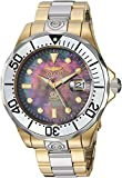 Invicta Men's 'Pro Diver' Automatic Stainless Steel Diving Watch, Color:Two Tone (Model: 16034)