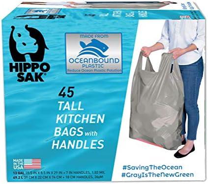 [해외]Hippo Sak 재활용 톨 키친 가방 오션 바운드 플라스틱 / Hippo Sak 재활용 톨 키친 가방 오션 바운드 플라스틱