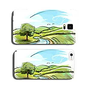 Sketchy Landscape cell phone cover case iPhone6