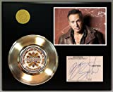 #4: Bruce Springsteen Gold Record Signature Series LTD Edition Display