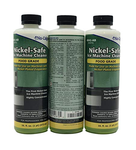 Nu Calgon Ice Machine Cleaner Nickel Safe 4287-34, 3 Pack