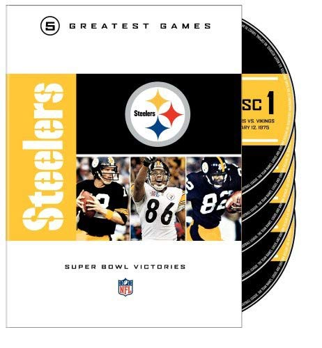 NFL Greatest Games Series: Pittsburgh Steelers Super Bowls -