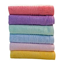 Bamboo Fibre Towel Set/ Soft And High Quality Towels/ 6 Pack