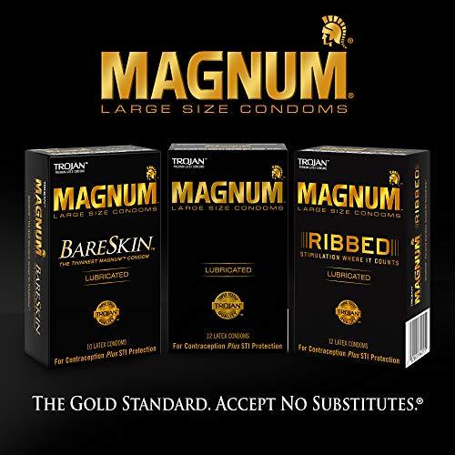 MAGNUM BareSkin Large Condoms, 24 Count (Pack of 1)