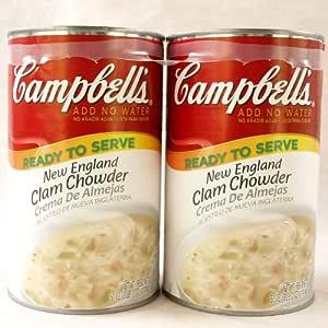 Sopa Campbell sopa de pescado en lata latas de sopa 1
