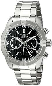 Invicta Men's 21466 Specialty Analog Display Japanese Quartz Silver-Tone Watch