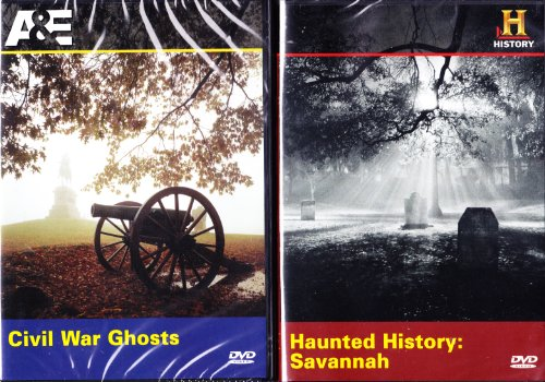 The History Channel : Haunted History of Savannah Georgia , Civil War Ghosts : Ghosts of the South 2 Pack -