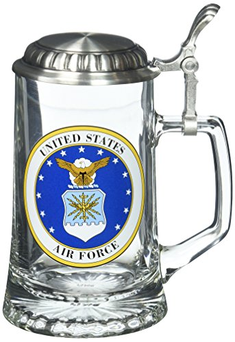 Air Force Stein - M. CORNELL IMPORTERS 4706 Air Force Glass Stein