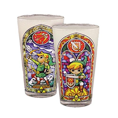 Link Legend of Zelda Pint (Icon Pint Glasses)