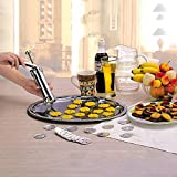 25Pcs Aluminium Manual Cookie Maker Machine