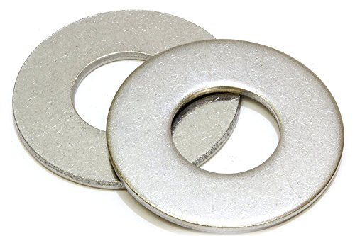 1/2'' Stainless Flat Washer, 1-1/4'' Outside Diameter (100 Pack)- Choose Size, by Bolt Dropper, 18-8 (304) Stainless Steel by Bolt Dropper