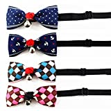 CatYou 4 PCS Set in Different Colors, Bowknot