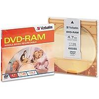 Type 4 DVD-RAM Cartridge, 4.7GB, 3x, Sold as 1 Each