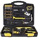 Teccpo 102-Piece Household Hand Tool Kits for Home Repair
