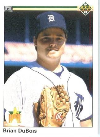 Amazoncom 1990 Upper Deck Baseball Card 78 Brian Dubois