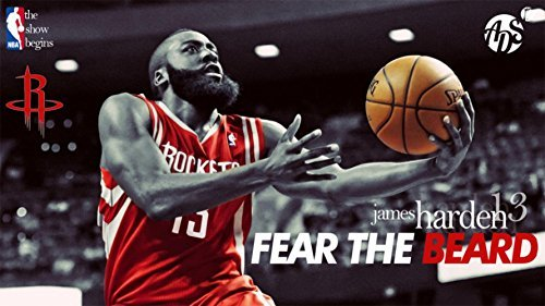 we are together James Harden poster wall scroll familywall print