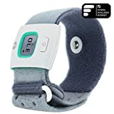 Highsound Baby Bluetooth iFever Smart Thermometer Bracelet 24 hours Medical Fever Measuring + Fever warning for (IOS 4.0+ system) iPhone4S/5/5C/5S/6/6 plus and (Android 4.3+ system)Samsung S4/S5/note3/note4/ Htc one/one max LG Nexus 4/5/7---Green