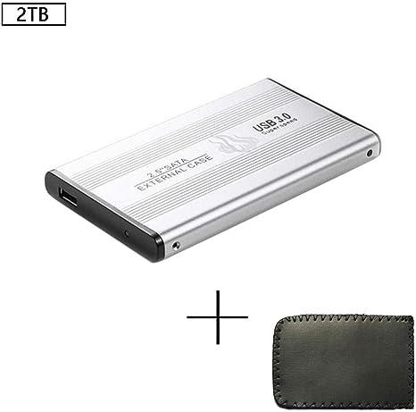Black//Red Portable SSD Drive USB 3.0 External SSD Solid State Drive 500GB 1TB 2TB High-Speed Data Transmission SSD Hard Drive Solid Storage Box for Mac//XP//Laptop//Windows System