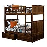 Best Atlantic Furniture Bunk Beds - Atlantic Furniture Nantucket Bunk Bed with 2 Raised Review