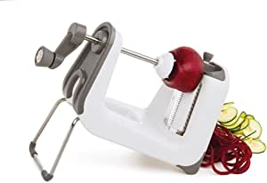 Progressive 55610 Professional Spiralizer, White/Gray