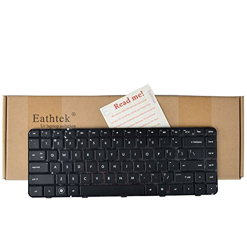 Eathtek New Laptop Keyboard with Backlit and Frame For HP Pavilion DM4-2000 DM4-2015DX DM4-2100 DM4-2033CL DM4-2070US Series Black US Layout (Hp Pavilion Dm4 Laptop Keyboard)