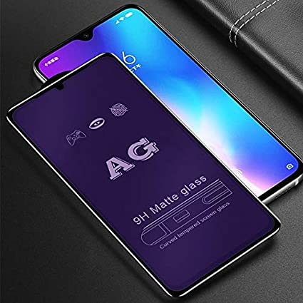 LGYD for 25 PCS AG Matte Anti Blue Light Full Cover Tempered Glass for Vivo X27 Pro
