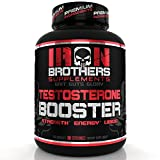 Testosterone Booster Supplement for Natural Energy, Strength, Libido & Stamina - Lean Muscle Growth for Men - Promotes Fat Loss - Increase Male Performance & Vitality- Build Mass - 90 Veggie Pills