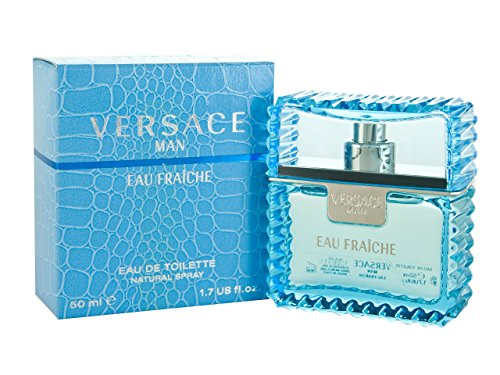 Versace Man Eau Fraiche By Gianni Versace For Men Edt Spray 1.7 Oz (1.7 Ounce Edt Cologne)