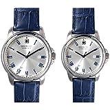 [スイスミリタリー] SWISS MILITARY 腕時計 ペアウォッチ ROMAN レザーベルト ML380 ML382 【正規輸入品】