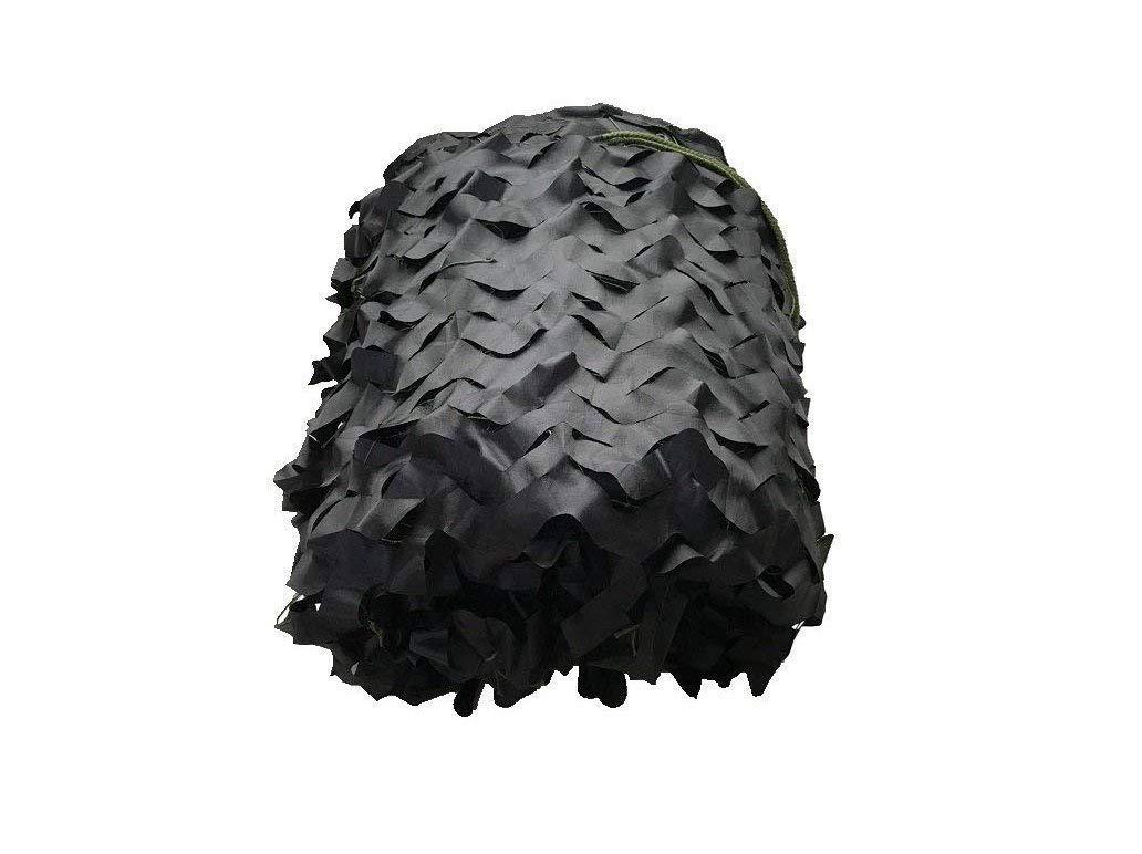 黒迷彩ネット防衛迷彩迷彩レザーキャンプキャンプ写真パーティーの装飾隠しキャンプシェルターテント迷彩カバー(3 * 2m) (サイズ さいず : 10*10m) 10*10m  B07QL82FZC