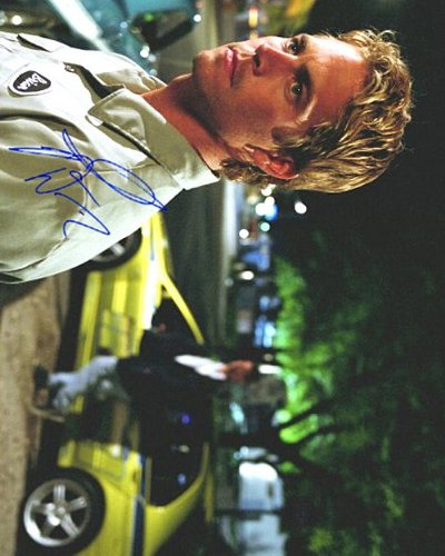 fast and furious signed picture - 2