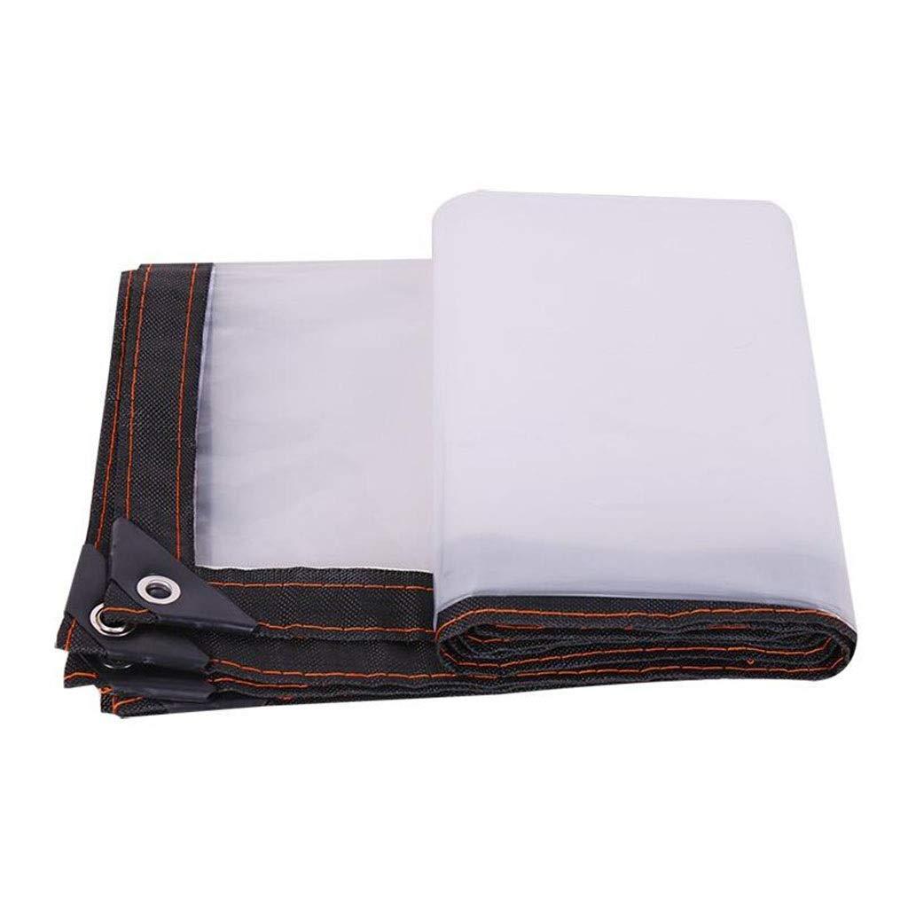 La tela cerata impermeabile trasparente all'aperto, pianta la tela cerata impermeabile del PE dell'isolamento del giardino della tela cerata (dimensioni   2X6m)