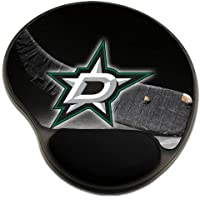 Stars Hockey Mousepad Base with Wrist Support Mouse Pad Great Gift Idea Dallas
