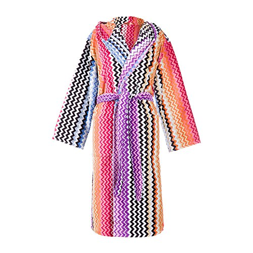 Missoni Stan Hooded Bath Robe - Size Medium by Missoni