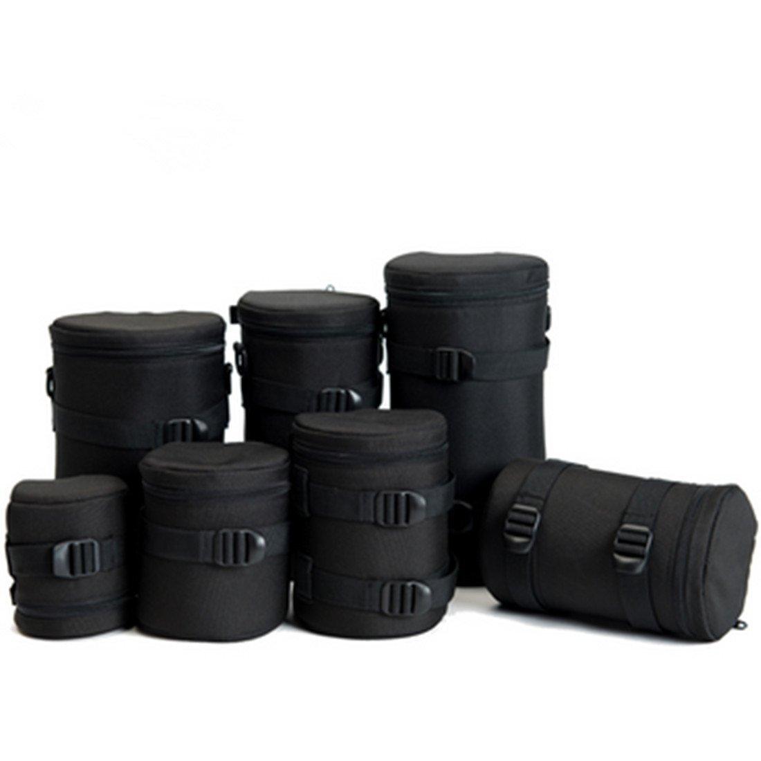 Safrotto カメラ用カメラレンズケースバッグ カメラ用 ナイロン製 ブラック デジタル一眼レフカメラ用 E10/E9x13/E11/E12/E10X16/E17N/E18 10x13cm  B06Y2WXH8S