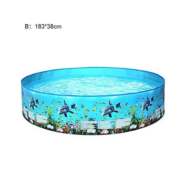 Yankuoo Piscina gonfiabile di grandi dimensioni per adulti e bambini piscina piscina piscina all'aperto coperta vasca… 6 spesavip
