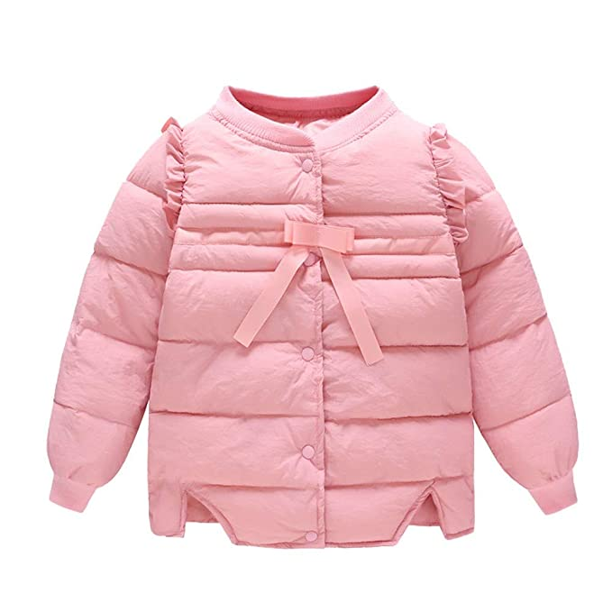 Baby Boy Girl Warm Coats Infant Thicken Velvet Jacket For Toddler Down Outerwear