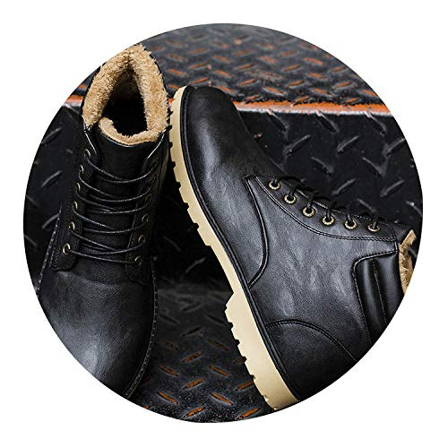 Used, Winter Boots Martin Boots High-Top Lace-Up Winter Shoes for sale  Delivered anywhere in USA