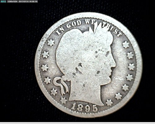 1892 Various Mint Marks - 1916 90% Silver Barber Quarter 1/4 Average Circulated to VG