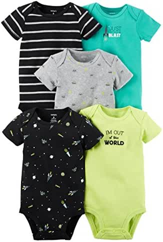 Carter's Baby Boys' 5 Pack Bodysuits