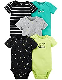 Carter's Baby Boys' 5 Pack Bodysuits (Baby) - Out of this...